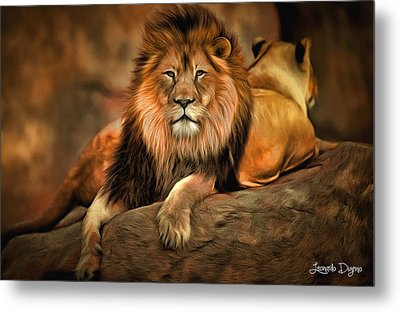 I Am Cecil Metal Print by Leonardo Digenio