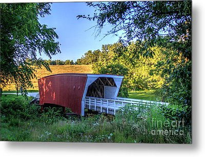 Cedar Bridge  Metal Print by Thomas Danilovich