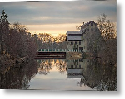 Cedarburg Mill Metal Print