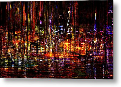 Celebration In The City Metal Print