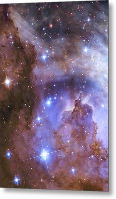 Celestial Fireworks - Hubble 25th Anniversary Image Metal Print by Adam Romanowicz