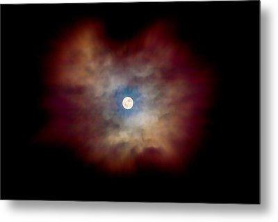 Celestial Moon Metal Print by Az Jackson