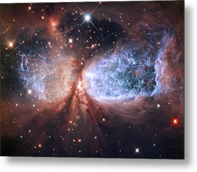 Celestial Snow Angel Metal Print by Mark Kiver