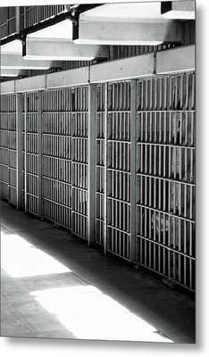 Cellblock A Metal Print