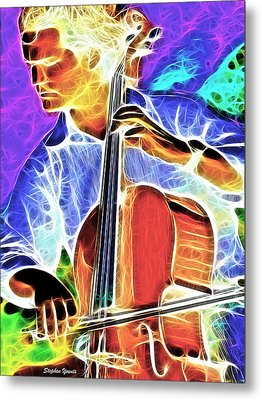 Cello Metal Print by Stephen Younts