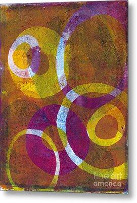 Cells 2 Metal Print