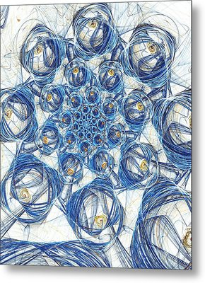 Cells Metal Print
