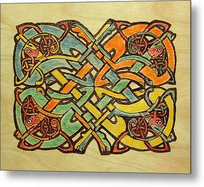 Celtic Knot 1 Metal Print by David Yocum