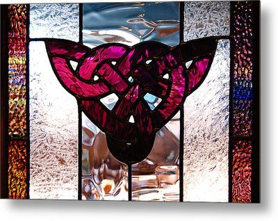 Celtic Knot Metal Print by Sarah King