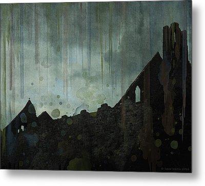 Celtic Ruins Metal Print