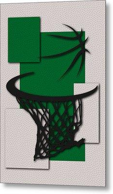 Celtics Hoop Metal Print