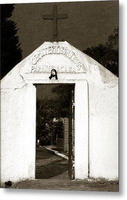 Cemetery Metal Print by Amarildo Correa