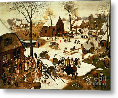 Census At Bethlehem Metal Print