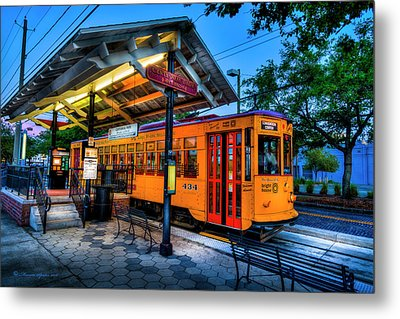 Centennial Park Satation Metal Print by Marvin Spates