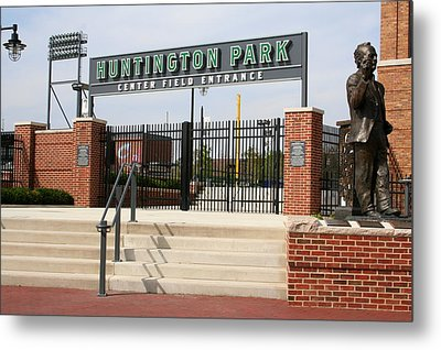 Center Field Entrance At Huntington Park  Metal Print