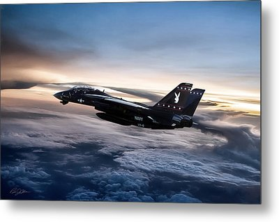 Centerfold Metal Print by Peter Chilelli