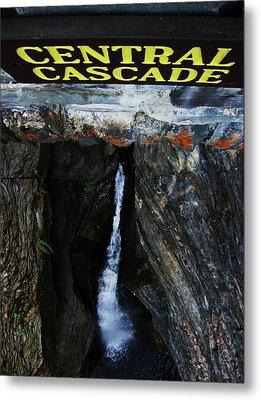 Central Cascade Bridge View Metal Print by InTheSane DotCom