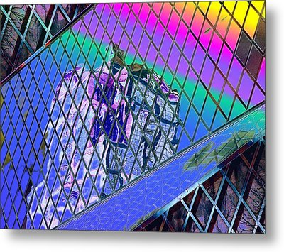 Central Library  Seattle 3 Metal Print by Tim Allen