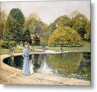 Central Park Metal Print by Childe Hassam