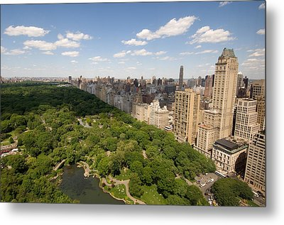 Central Park In New York City Metal Print by Joel Sartore