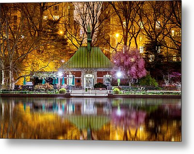 Central Park Memorial Metal Print by Az Jackson