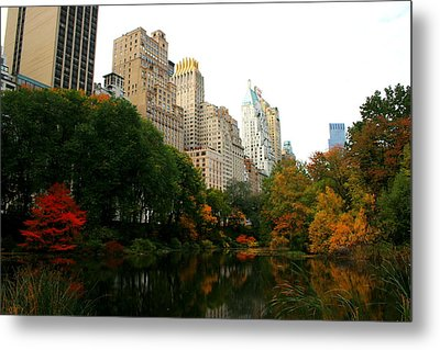 Central Park South Metal Print by Christopher Kirby
