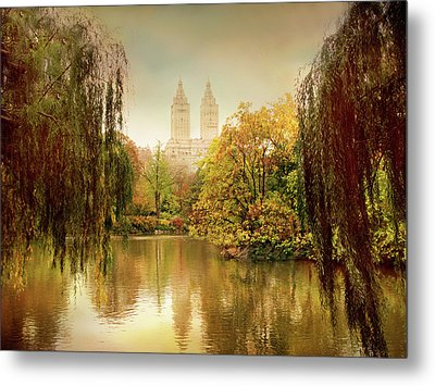 Metal Print featuring the photograph Central Park Splendor by Jessica Jenney
