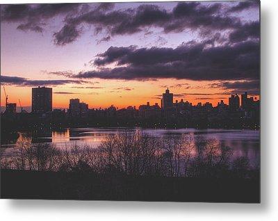 Central Park Sunrise Metal Print by Ariane Moshayedi