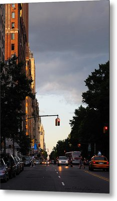 Central Park West 7524 Metal Print by PhotohogDesigns