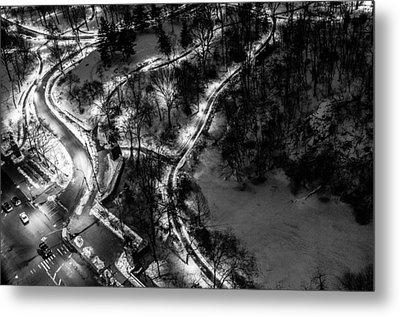 Metal Print featuring the photograph Central Park Trails by M G Whittingham