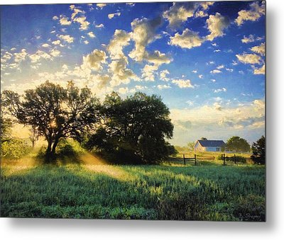 Central Texas Sunrise Metal Print