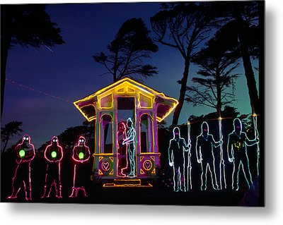 Ceremony At Sutro Heights Metal Print by Garry Gay