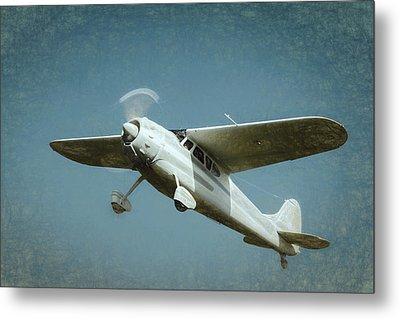 Metal Print featuring the photograph Cessna 195 by James Barber