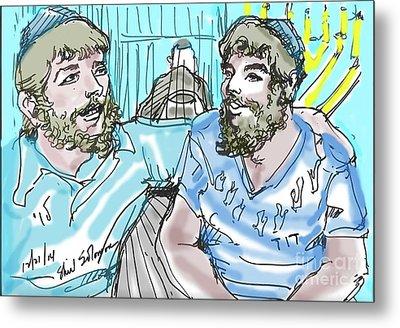 Chabad Friends Metal Print