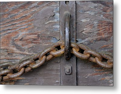 Chain And Grain Metal Print by Dan Holm