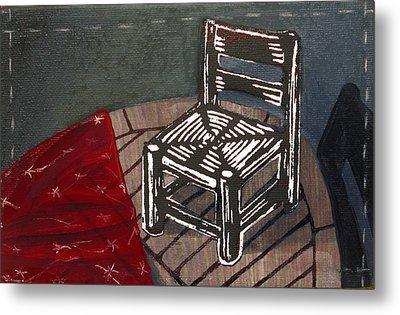 Chair II Metal Print by Peter Allan