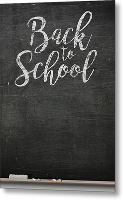 Chalk Board Metal Print by Allan Swart