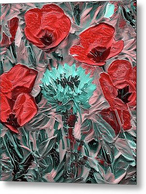 Challenging Flowers Metal Print by Yury Malkov
