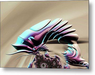Chameleon Metal Print by Steve Purnell