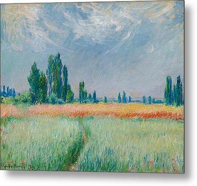 Champ De Ble Metal Print by Claude Monet