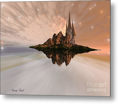 Chandara Metal Print by Corey Ford