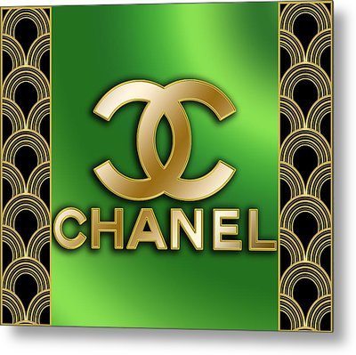 Chanel - Chuck Staley Metal Print by Chuck Staley