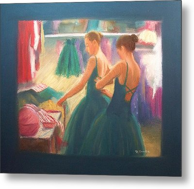 Channeling Degas Metal Print by Diane Caudle