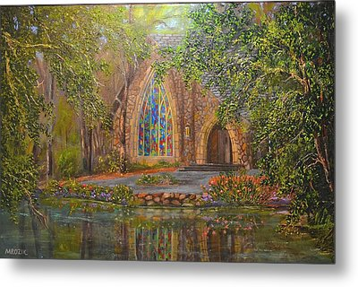 Chapel At Callaway Metal Print