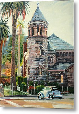 Chapel Bug Metal Print by Colleen Proppe
