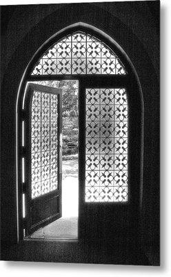 Chapel Door Metal Print