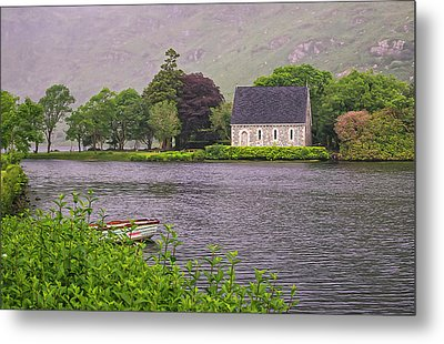Chapel In The Mist - Gougane Barra - County Cork - Ireland Metal Print