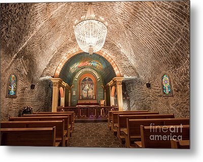 Metal Print featuring the photograph Chapel  by Juli Scalzi