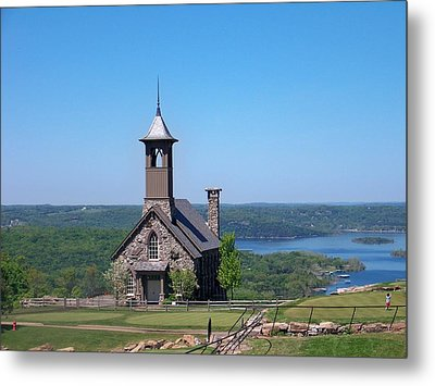 Chapel Of The Ozarks Metal Print