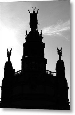 Chapelle Notre Dame De Bon Secours Metal Print by Robert Knight